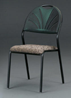 Fabric Padded Stacking Chairs