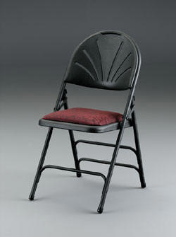 Fabric Padded Folding Chairs