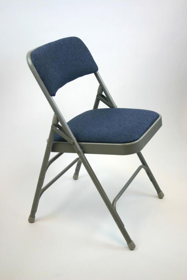 Fabric Padded Folding Chairs Commercial Built Chairs